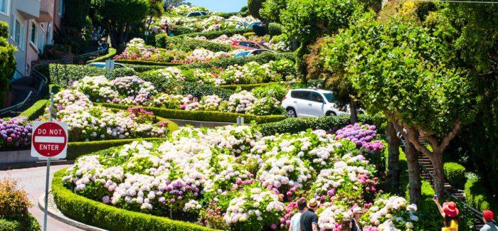 1. Lombard Street, California