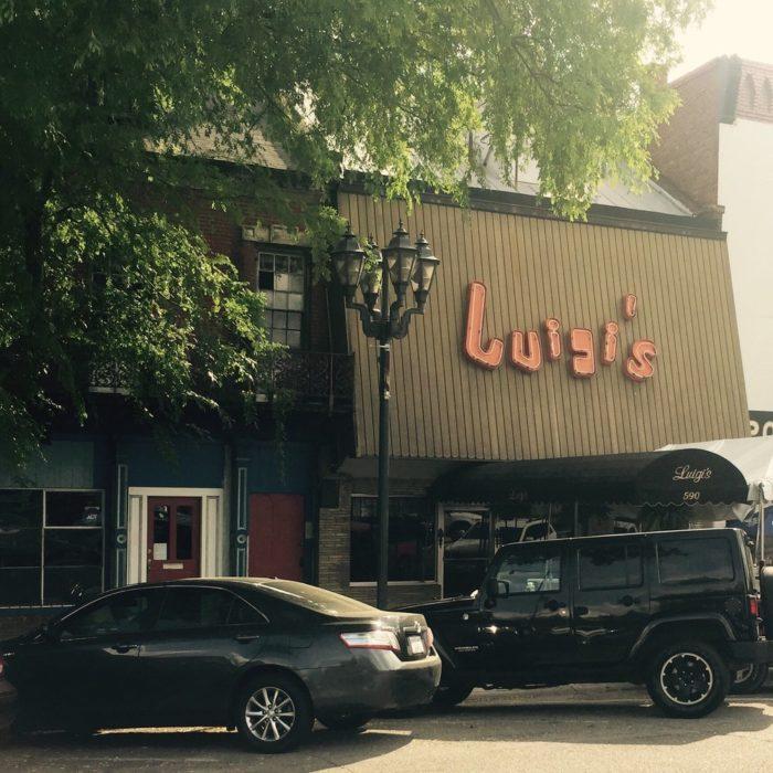 4. Luigi's Restaurant, Augusta