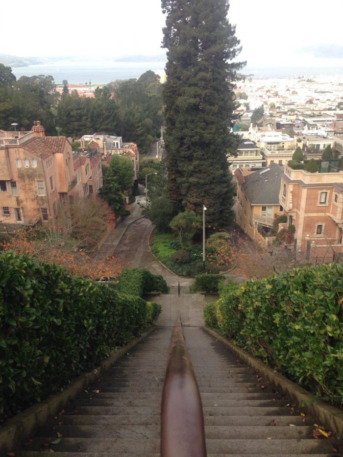 8. The stairs of San Francisco are epic in their own right.