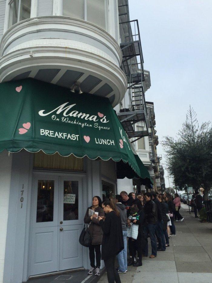 7. Mama's on Washington Square