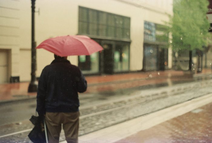 6. We're always braving the rain or longing for it, because it wouldn't be Portland without it.