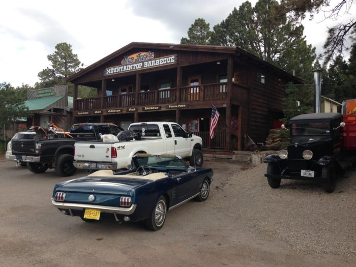 4. Mad Jack's Mountaintop Barbecue, 105 James Canyon Highway, Cloudcroft