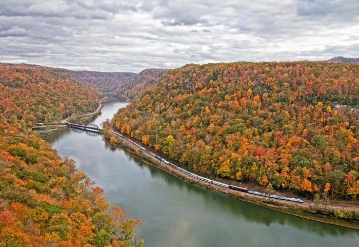 17. New River Train Excursions, West Virginia
