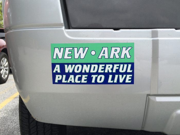 Newark DE bumper sticker