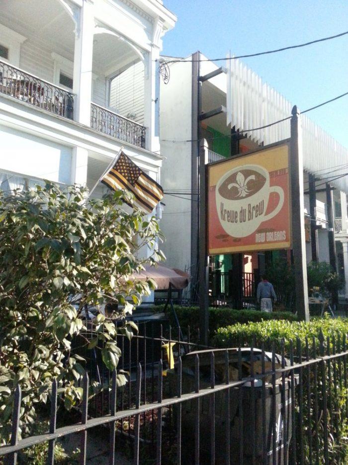 1) Krewe Du Brew, 1610 St. Charles Ave.