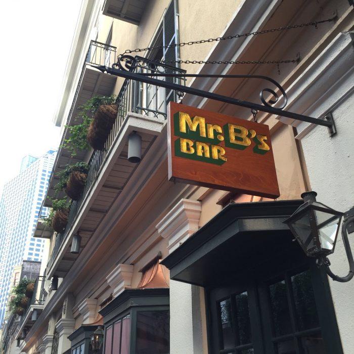 4. Mr. B's Bistro, 201 Royal St., New Orleans