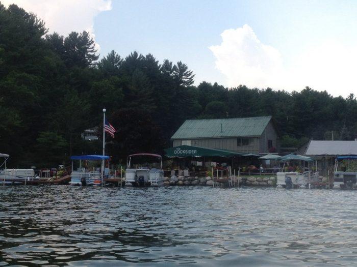 10. The Docksider Restaurant, Lake George