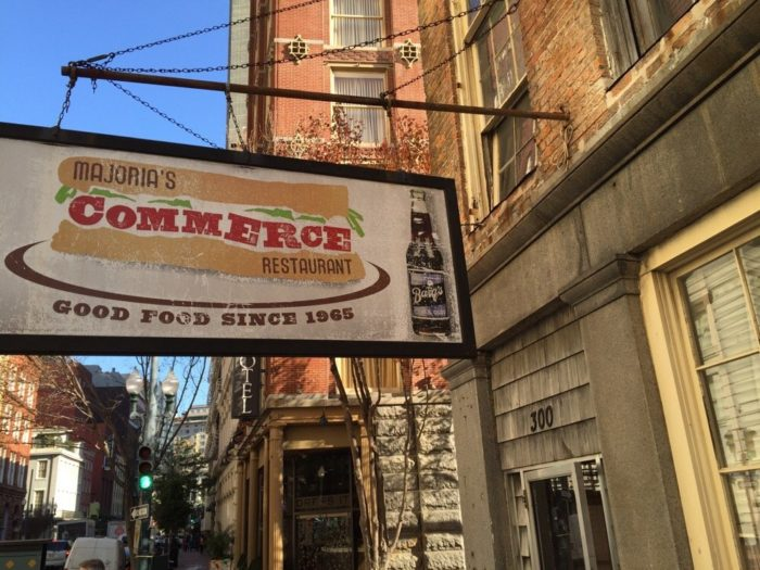 11) Majoria's Commerce Restaurant, 300 Camp St.