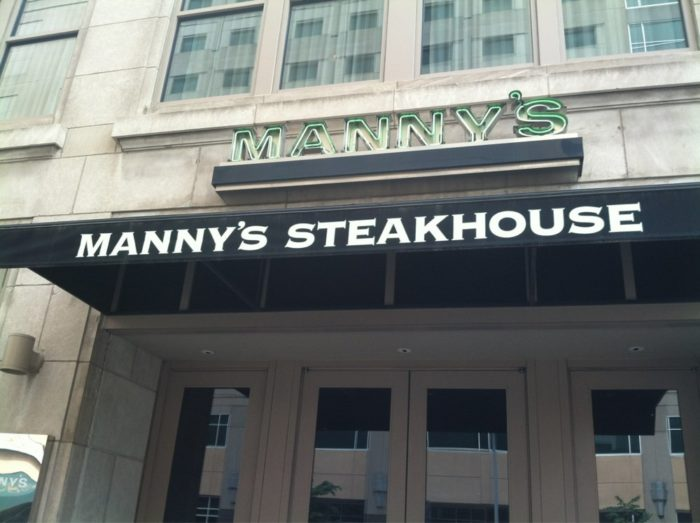 1. Manny's Steakhouse