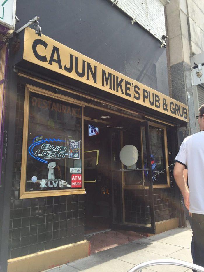 4) Cajun Mike's, 116 Baronne St.