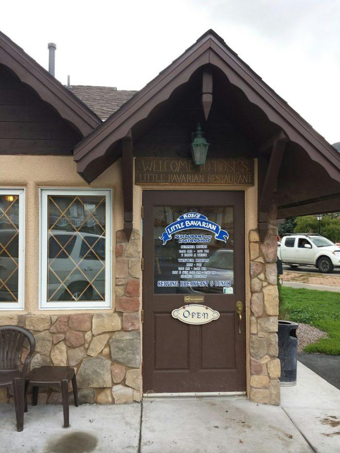 8. Rosie's Little Bavarian (Glenwood Springs)