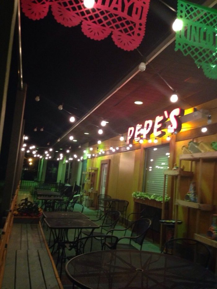 1. Pepe's (Chesterfield)