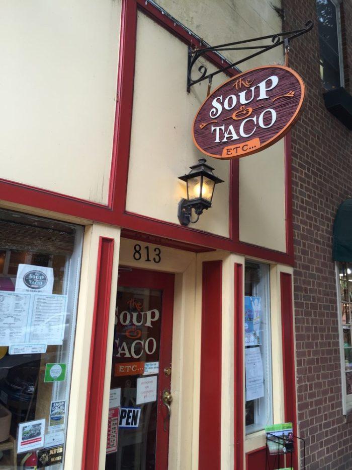 11. Soup & Taco (Fredericksburg)