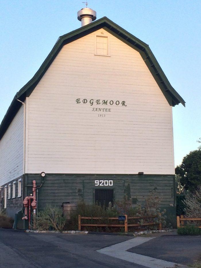 7. Edgemoor Dairy Barn in Santee