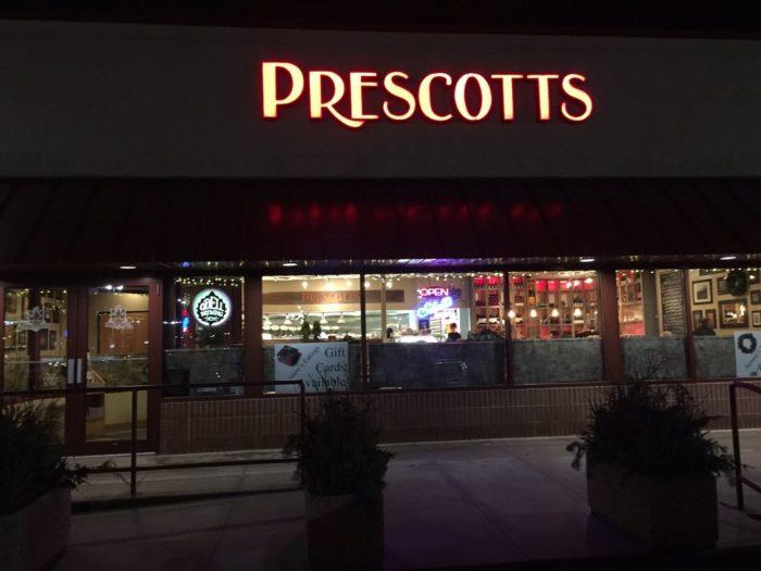 4. Prescott's Grill