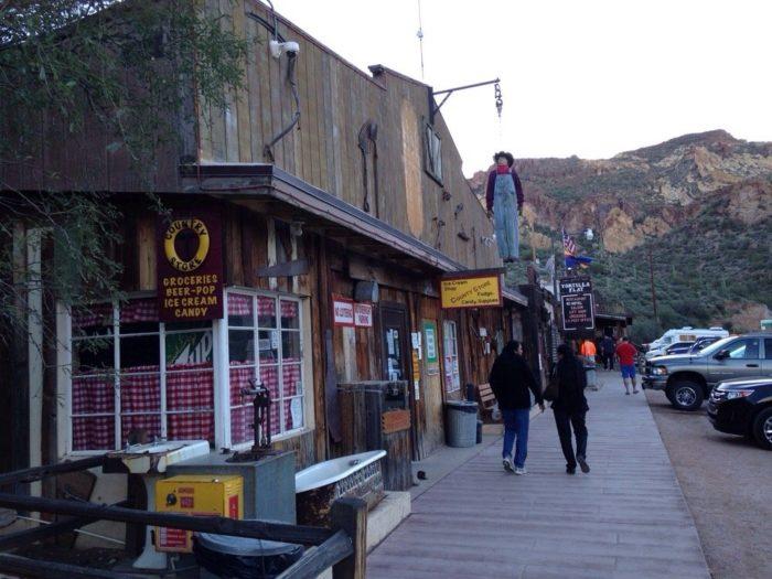 8. Superstition Saloon, Tortilla Flat