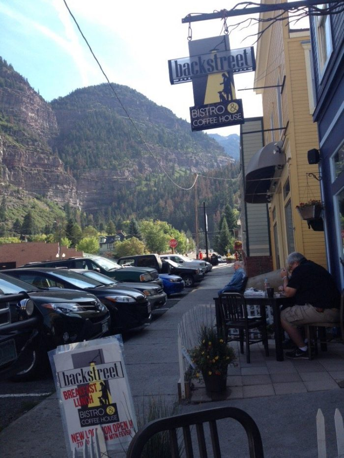 11. Backstreet Bistro (Ouray)