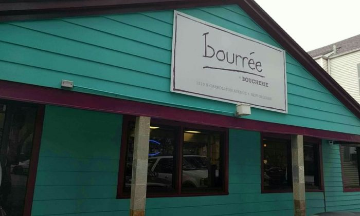 1) Bourree, 1510 S. Carrollton Ave.