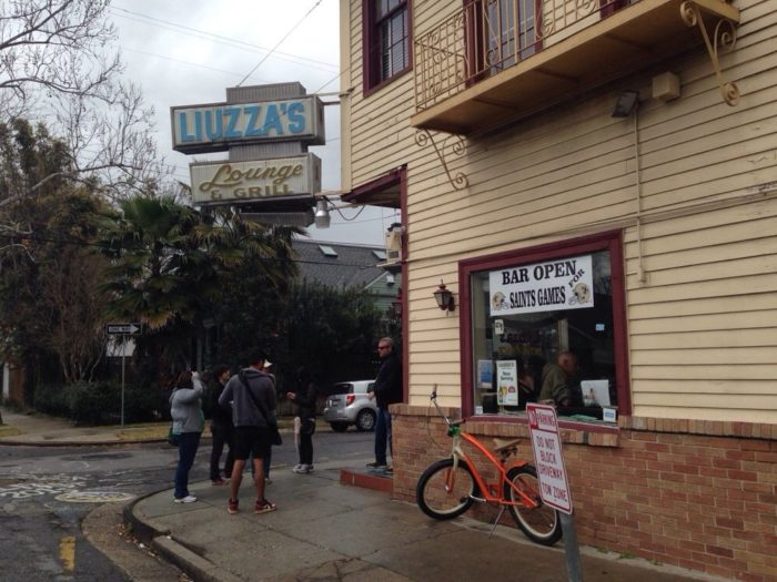 2) Liuzza's By the Track, 1518 Lopez St.