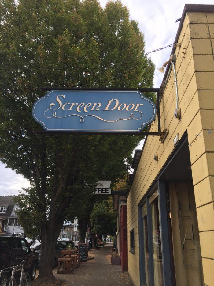 1. Screen Door, Portland