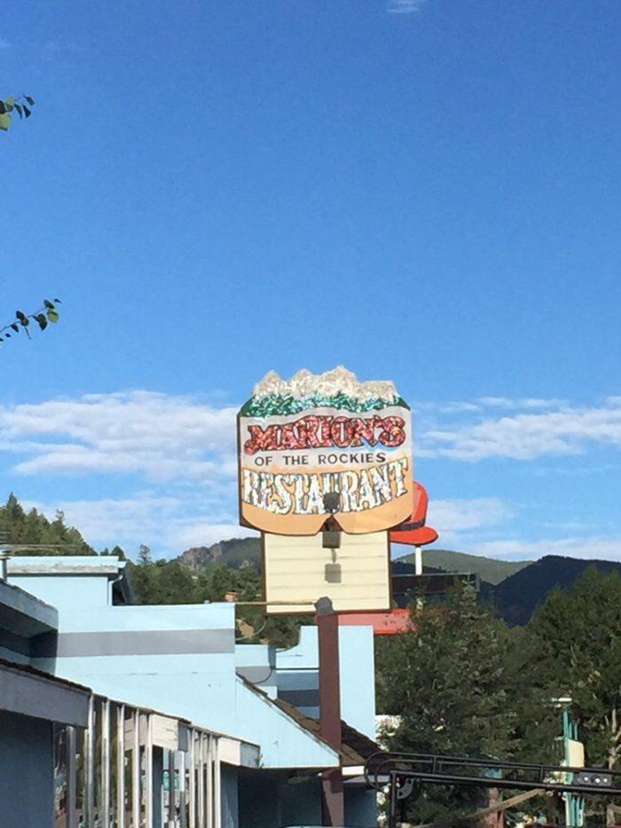 14. Marion's of the Rockies (Idaho Springs)