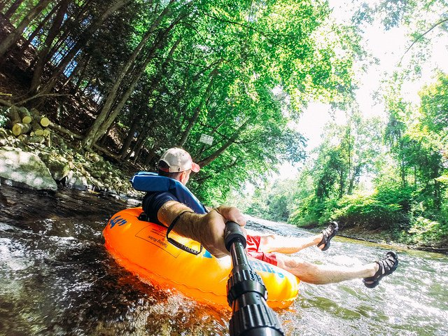 3. Go tubing down the Farmington River.