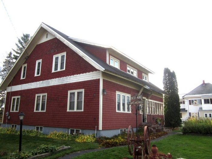 3. Stay at a real Bed & Breakfast in Caribou.