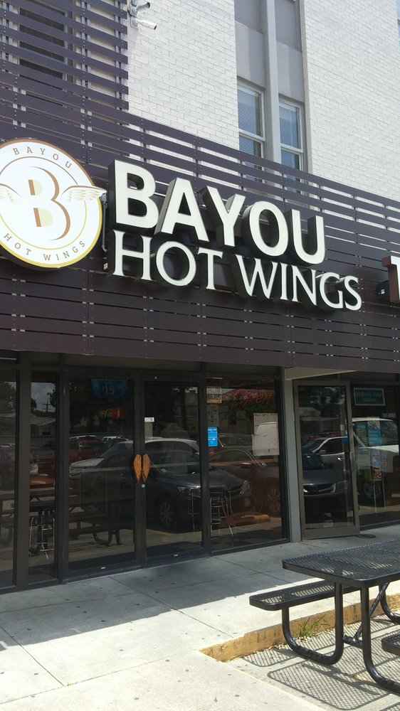 3) Bayou Hot Wings, 6221 S. Claiborne Ave.