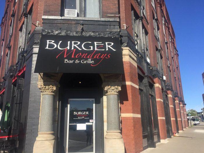 5. Burger Mondays Bar & Grille, Binghamton
