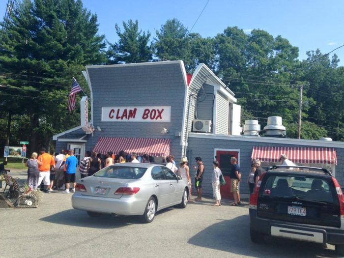 19. Order a big box of fried clams at The Clam Box in Ipswich.