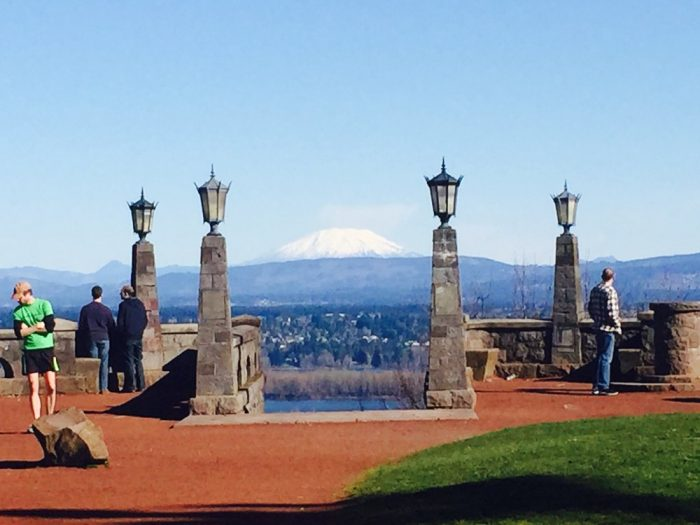 7. James Woodhill Park at Rocky Butte