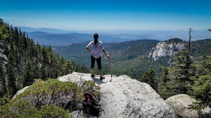 5. Look at this panoramic view from Mount San Jacinto. Experiencing it in person will give you goosebumps.