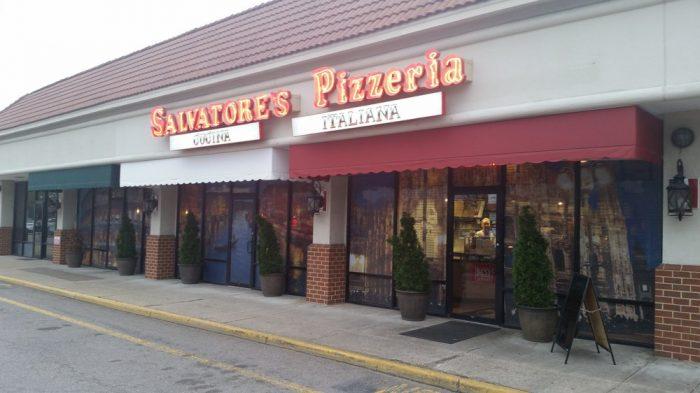 3. Salvatore's Pizzeria (Virginia Beach)