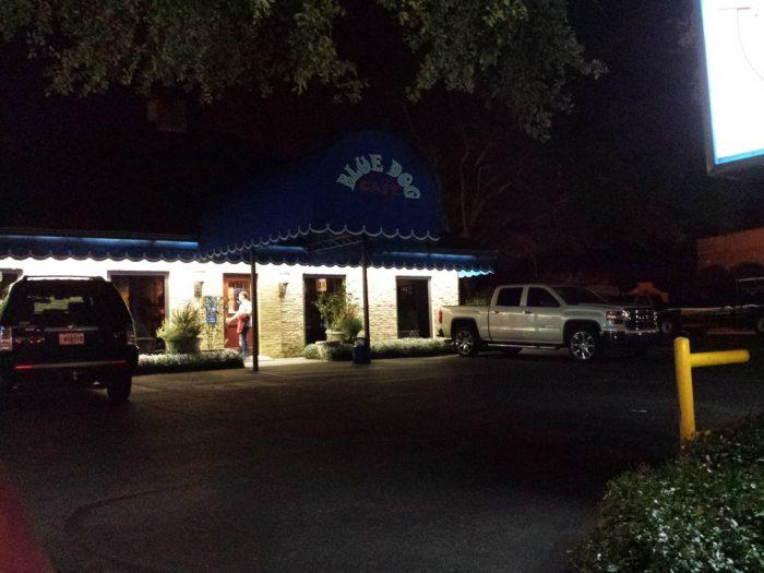 2. Blue Dog Café, 1211 W Pinhook Rd., Lafayette