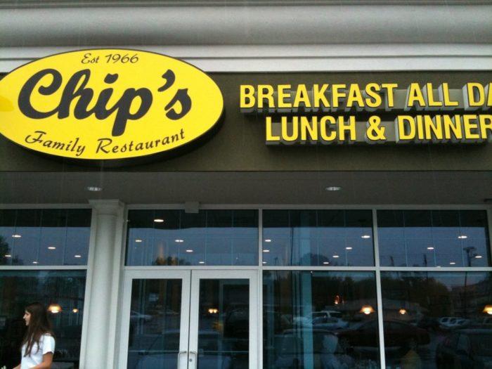 1. Chip's Family Restaurant (Fairfield)