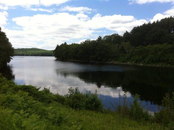 7. Lake McDonough (Barkhamsted)