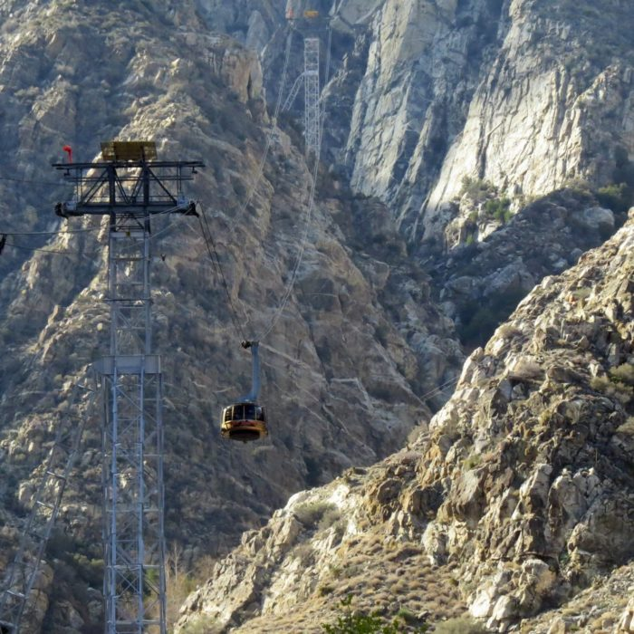10. The Palm Springs Aerial Tramway will test your fear of heights.