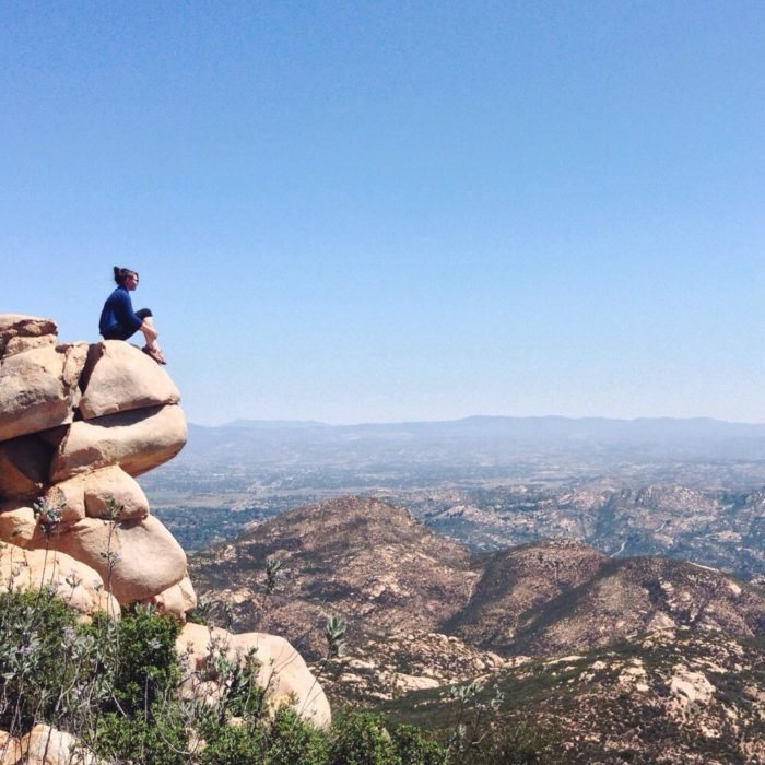 11. You have this to look forward to when you reach the top of Iron Mountain in San Diego County.
