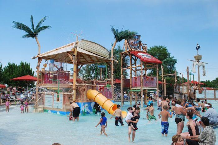 7. Pirate's Cove Family Aquatic Center