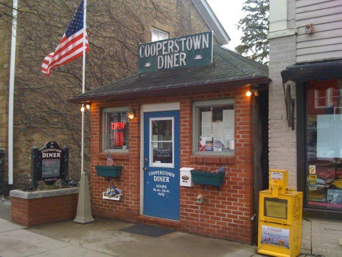 1. The Cooperstown Diner, Cooperstown