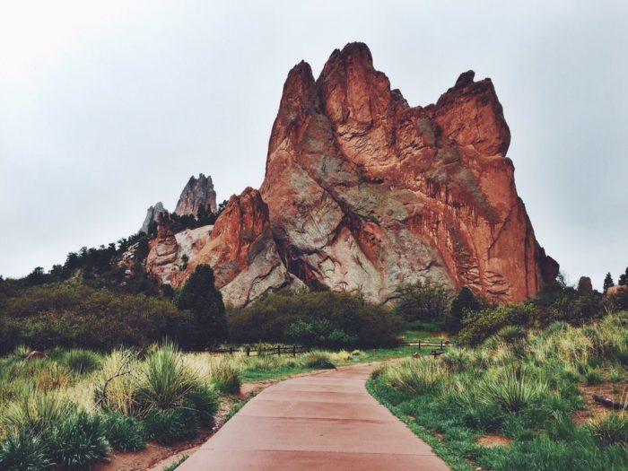Garden of the Gods Colorado Springs Colorado  Womo