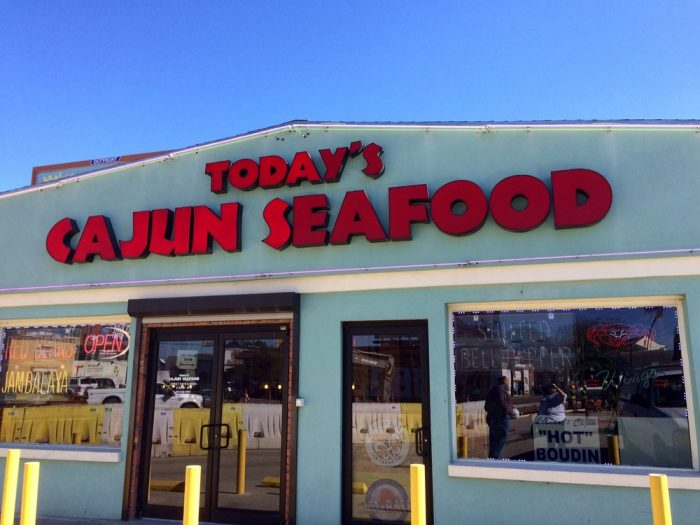 10) Today's Cajun Seafood, 1700 St Claude Ave