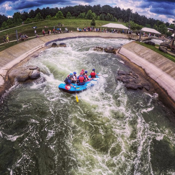 10. U.S National Whitewater Center, Charlotte