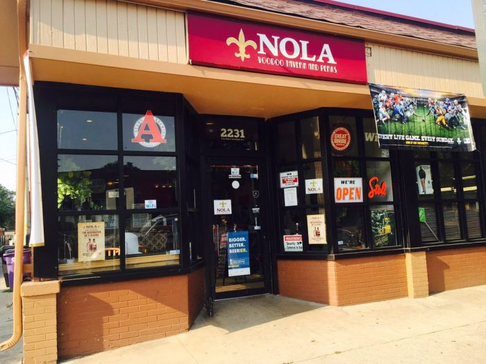 6. NOLA Voodoo Tavern and Perks