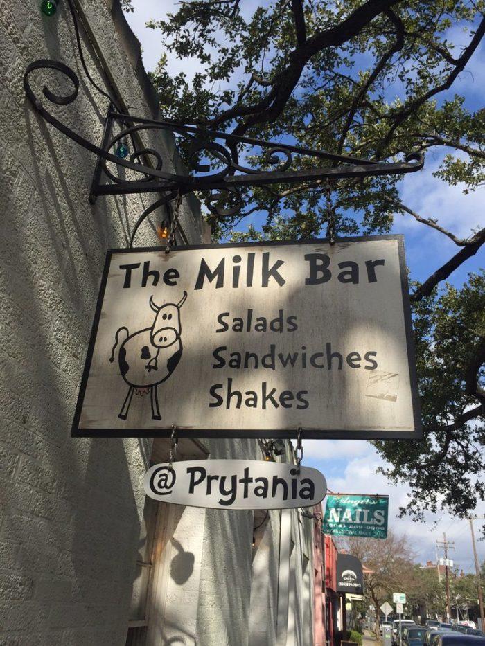 12) Milk Bar, 1514 Delachaise St.