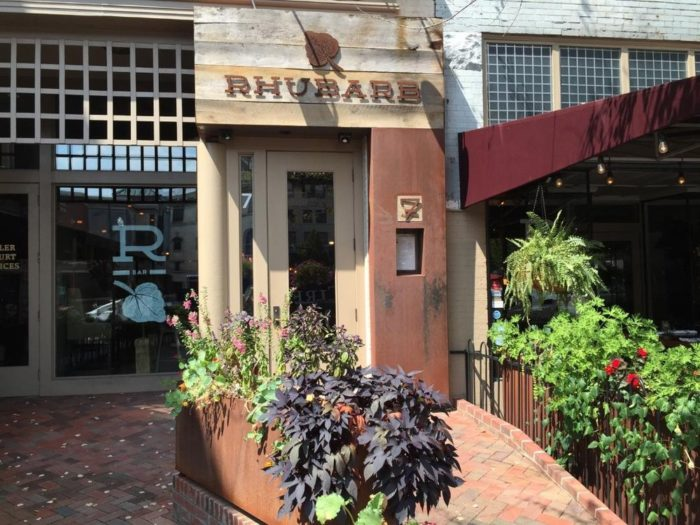 8. Rhubarb, Asheville