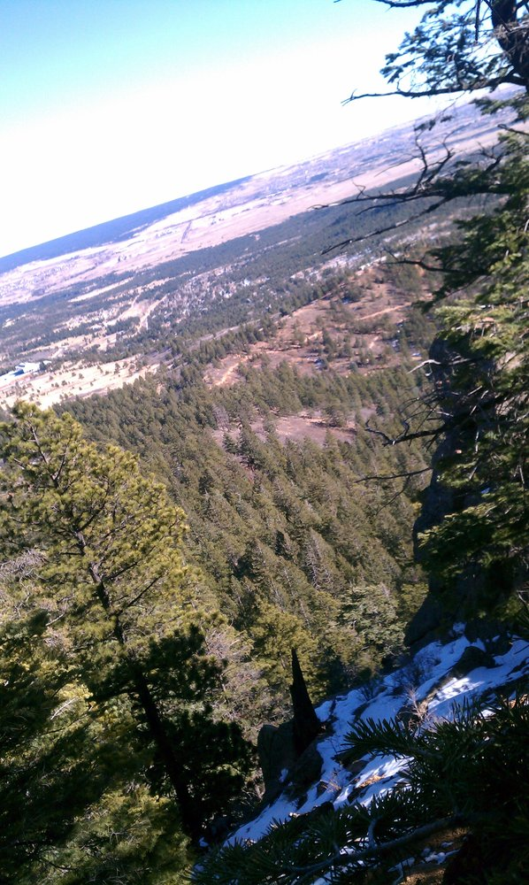 6. Stanley Canyon Reservoir Trailhead (Colorado Springs)