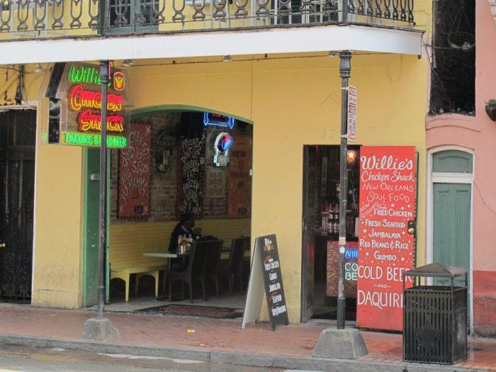 6) Willie's Chicken Shack, 233 Bourbon St.