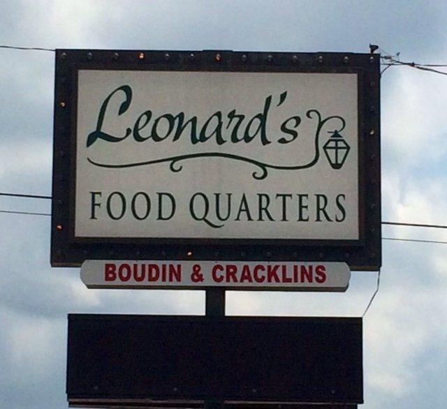 6. Leonard's Food Quarters, 1708 Gerstner Memorial Dr., Lake Charles