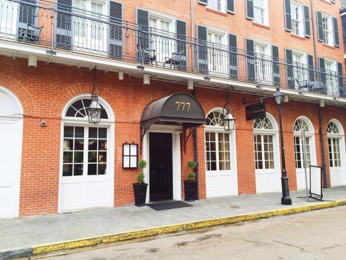 3) Restaurant R'evolution, 777 Bienville St.